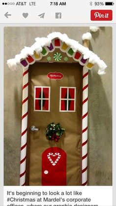 Best ideas for diy christmas door decorations navidad Diy Christmas Door Decorations, Christmas Door Decorating Contest, School Door Decorations, Christmas Themes, Christmas Crafts, Christmas Christmas, Funny Christmas, Snowman Decorations, Handmade Decorations