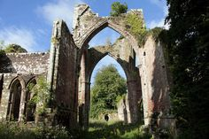 Calder Abbey Ruins and Mansion