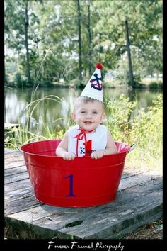 Boys Birthday Party Hat and Bib  Nautical Theme by DaintyCouture, $44.00