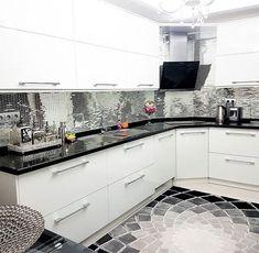 Mutfak Dolabı Modelleri ve Şahane Mutfak Dekorasyonu Örnekleri - Kitchen Cabinet Makers, Kitchen Cabinets Models, Kitchen Models, Wall Cabinets, Home Decor Kitchen, Kitchen Furniture, Kitchen Interior, Classic White Kitchen, Design Your Kitchen