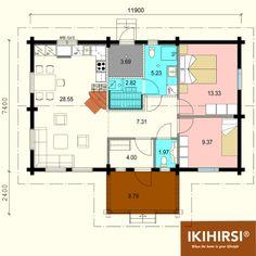 Экспликация помещений. #деревянныйдом #Ikihirsi. Больше проектов одноэтажных деревянных домов на http://www.ikihirsirussia.ru/iki-houses/iki-proekty-1-etazh.html