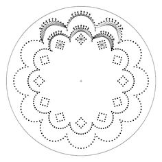 paper punch pattern -- ? plus stitching on paper? (lots of patterns on this website, but instructions are skimpy)