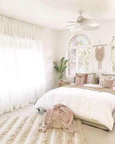 I normally don't photograph this side of our bedroom very often, however since the arrival of these classic linen sheer curtains from… Sheer Curtains Bedroom, White Linen Curtains, Linen Bedroom, Curtains With Blinds, Home Decor Bedroom, White Bedroom, Master Bedroom, Bedroom Ideas, Home Decor Store