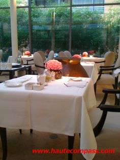 Lorenz Adlon Esszimmer If you want to experience dinner at one of     FACIL restaurant Berlin http   www hautecompass com facil html