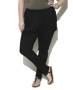 Studded Jogger Pant - Bottoms