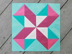 Lucky Pieces Quilt Block | FaveQuilts.com