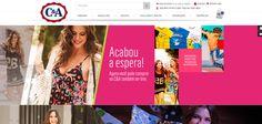 Chic e Fashion: C&A volta a vender pelo site