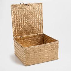 GOLDEN PALM BOX - Laundry Baskets - Bathroom   Zara Home Canada