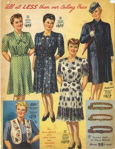 1945 Lane Bryant Catalog