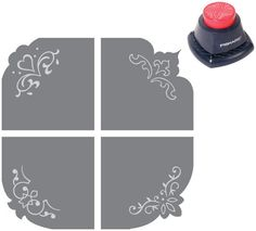 ELEGANCE 4 IN 1 Embossing Corner Punch  by DivineDesignsbyBonni, $9.95