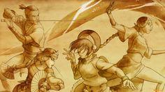 Anime Die Legende Von Korra  Wallpaper