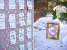 It'd be hilarious to make everyone's escort card with their own theme music...someone's gonna get Right Said Fred...