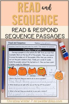 These sequence of events reading passages will help your Kindergarten, 1st, and 2nd grade students learn to identify and describe the sequence of events while reading. Students will read the passage, sequence the events of the story, and answer comprehension questions describing the events in the reading passage. DISTANCE LEARNING: NOW DIGITAL ACTIVITIES IN GOOGLE SLIDES AND SEESAW INCLUDED! Teaching Kindergarten, Teaching Reading, Guided Reading, Student Learning, Teaching Resources, Teaching Ideas, Reading Comprehension Strategies, Comprehension Questions, Reading Passages