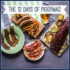 On the second day of the 12 Days of Piggymas, we've got some extra special sweet treats for our piggy fans. Pig of the Month BBQ Ham Sausage Recipe, Great Recipes, Favorite Recipes, Good Food, Yummy Food, 12 Days, Side Dish Recipes, Giveaways, Bacon