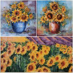 """Floarea aceasta, a Soarelui, are ceva aparte, mai mult ca sigur. Cred ca nu e om care să nu se minuneze de așa frumusețe, când e lanul plin, în toiul verii, cu toate """"pălăriile"""" acelea galbene, întoarse spre Soare, sursa lor de viață. ... și adevărul e că ne plac semințele 😅 Pumpkin, Painting, Outdoor, Art, Outdoors, Art Background, Pumpkins, Painting Art, Kunst"""