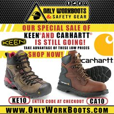 GET 10% OFF!!! All KEEN & CARHARTT models! Our LIMITED TIME offer is still going!! Visit our online store at www.onlyworkboots.com and take advantage ! SHOP NOW! Carhartt, Hiking Boots, Shop Now, Models, Store, Shopping, Fashion, Templates, Moda