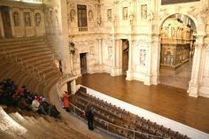 Teatro Olimpico by architect Andrea Palladio, Vicenza, Italy---My Favorite Place Ever!!!!