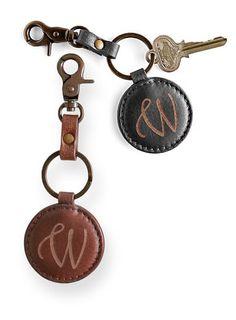 Monogram key fob