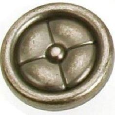 7511-416 Paris Knob- Antique Pewter