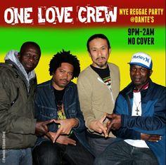 NYE Reggae Party @Dante's