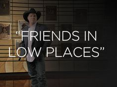 """I got: """"Friends In Low Places""""! Which GARTH BROOKS Song Are You?"""