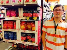 Luke representing Luke's Organic at Wheatsfield Cooperative. Organic Chips, Luke Luke, Chia Seeds, Superfood, Passion