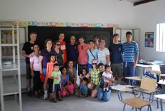 Friends Of Honduran Children: Sponsorship Awareness Brigade 2012     The crew who helped finished the school and put stoves in the houses.