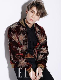 Jong Hyun - Elle Magazine February Issue '15