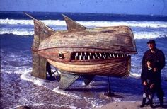 Wooden Whaler Interactive, Happening & Street Art Mechanic & Friends Recycled Art Wood & Organic