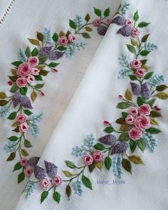 When I first started embroidery, my rococo technique was my fearful dream. Hand Embroidery Patterns Flowers, Ribbon Embroidery Tutorial, Hand Embroidery Videos, Embroidery Flowers Pattern, Silk Ribbon Embroidery, Hand Embroidery Designs, Machine Embroidery, Embroidery Supplies, Embroidery Thread