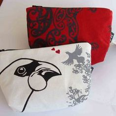 Makeup bags- NZ inspired designs