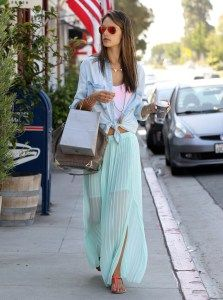 Learn how to wear Maxis! #skirts #maxi #summer #style #fashion