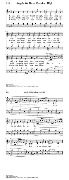 Angels We Have Heard on High - Hymnary.org