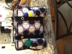 BASEBALL/BASEBALL MOMS:  Thirty one bag & red sharpie!  I use this bag to keep all the items for the ballpark!