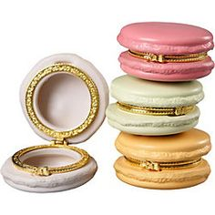 Macaron Trinket Boxes - NEED! $10 from Hattan Home