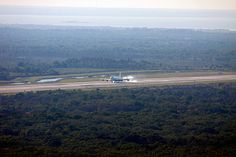 Shuttle Carrier Aircraft Arrives at Kennedy Space Center (KSC-2012-2007) (explored)