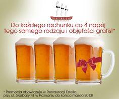Grafika promocji na napoje, którą przygotowaliśmy dla Estelli.