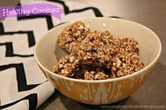banana, oats, and almonds Healthy Breakfast Recipes, Healthy Snacks, Healthy Eating, Healthy Recipes, Eating Clean, 3 Ingredient Cookies, Almond Cookies, Breakfast Cookies, Healthy Cookies
