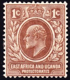 East Africa and Uganda 1c 1903