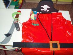INFANTILCASTELL: materiales, fichas, recursos educación infantil explicació disfressa pirates