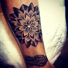 mandala lotus -