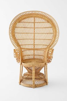 Bridal Shower Idea: Peacock chair for bride's to sit in and open presents at bridal shower.