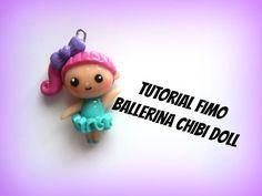 chibi doll ballerina fimo tutorial- Polymerclay chibi dancer - YouTube