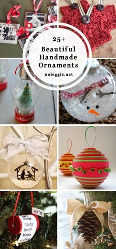 25 beautiful handmade ornaments to make | NoBiggie.net