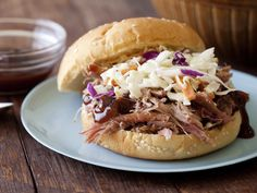 BBQ Pork Sandwich a Paula Deen recipe have made before and a great recipe for really cold days. Going to make it next week when it is so cold. A taste of summer in the winter.