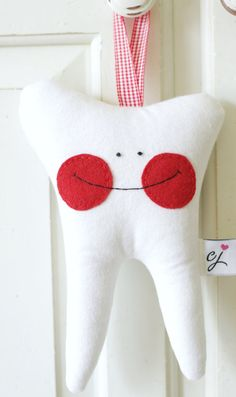 Personalized Tooth Fairy PillowCustom with by chloejanehandmade