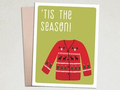 Christmas Card - Ugly Sweater – The Imagination Spot