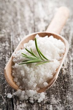 """Salt  """"gets rid of lots of problems... warm water salt compress for cystic acne, regular breakouts...that's why your skin looks better after the beach."""""""