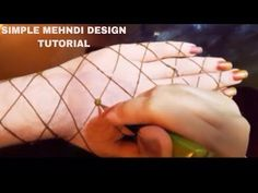 Latest Arabic Henna Designs For Hands | Mehndi Designs With Cap | Gol Tikki By Jyoti Sachdeva - YouTube