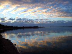 Lake Bolac at dawn. Victoria, Australia. Jul 2012.  Photo taken using a Samsung Galaxy S2. (c) Lucas Pardo.